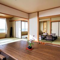 【全室海側】和室12畳+和室6畳+ダイニング〜デラックス〜