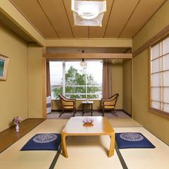 【本館和室206・306】白樺湖側で見晴らしの良い角部屋