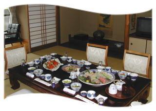 【1泊2食】お料理自慢のお刺身盛り合わせプラスおまかせ豪華プラン