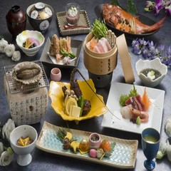 ◎当館人気!季節変わりのエビ料理とアワビの踊り、小金目鯛の姿煮付☆グルメプラン♪