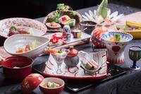 【スタンダード和会席料理】〜信州サーモンの会席料理コース〜★特別フロアご宿泊プラン♪