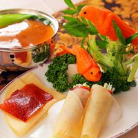 【中国料理】鉄人の技光る!全コース≪フカヒレスープ付き≫♪選べるチャイナ4コース