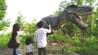 【恐竜のすみかを探索?!】迫力満点のアトラクション「かつやまディノパーク」入場券付プラン<1泊2食>
