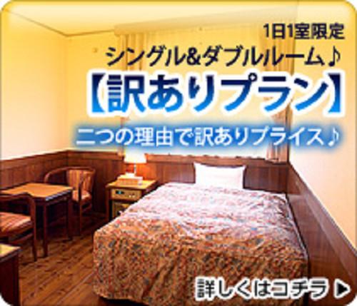 1日1室限定【訳あり】ダブルルーム(1階)