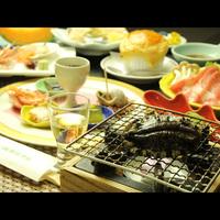 【おすすめ】当館人気No.1★アワビ踊り焼付き♪海鮮和食会席膳■2食付〈貸切風呂無料〉