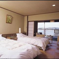 海と朝日が見える露天風呂付ツイン38平米(禁煙)