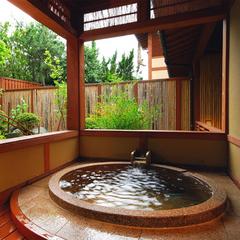 ■露天風呂付き客室・万楽■大人の休日を楽しむ【旬替り会席膳プラン】