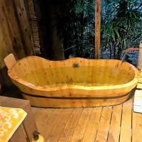 [ 露天風呂付き客室 ]お料理グレードアップ!<牛肉/ひらめの薄造り/活き鮑の踊り焼き>美食会席