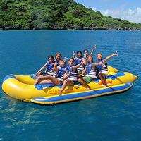 夏の一番人気プラン!バナナボートで行く透明度抜群の無人島シュノーケルツアー付き≪絶景レストラン朝食付