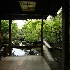 【春夏旅セール】【離れ家】日本庭園に佇む紅塵庵で優雅なひとときを(会場食)