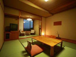 落ち着いた雰囲気のスタンダード和室(8畳〜10畳)