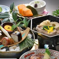 【泉水会席】泰凛会席よりグレードアップ♪「鯛兜煮」又は「天麩羅」のどちらかお選び下さい(会場食)