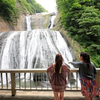大迫力!大自然の力とマイナスイオンを感じる!日本三名瀑のひとつ「袋田の滝」の入場券付プラン