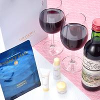 ポイント3倍!【蟹入りふかひれスープ】客室へ赤ワインハーフボトルご用意&女性にミキモトアメニティ♪