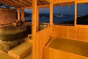 【特典付グレードアップ】海一望和洋貴賓室♪露天&展望内湯付贅沢プラン