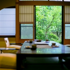 離れ 青巒荘 【山法師】■半露天風呂付き特別室・二階造和洋室