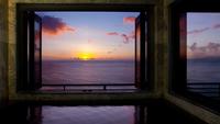 【CAREN人気の展望風呂付客室/スタンダードプラン】相模湾を見晴らす絶景と天然温泉を独占