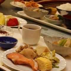 【当日限定】富山の味満載お客様満足度NO.1てづくり朝食が無料♪