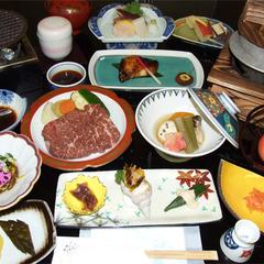 【選べる一品+ステーキセット】美味しいお肉と一緒に何食べる?煮魚or鶏釜飯をセレクト♪/2食付