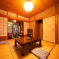 1階 【露天風呂付き】和室 10畳+8畳+踏込+広縁