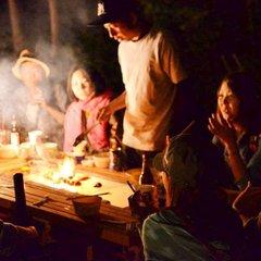 【A:ベーシックBBQセット付】別荘のベランダで手ぶらBBQ夕食付きプラン♬