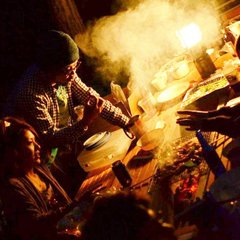 【C:飛騨牛特上肉&焼きそばBBQセット付】別荘のベランダで手ぶらBBQ夕食付きプラン♬