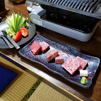 【前沢牛ステーキ食べ比べ】3種の部位を食べ比べ♪温泉券付