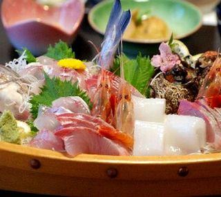 潮香会席料理+舟盛付コース