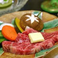 ◆人気の飛騨牛をステーキで味わう♪飛騨牛ステーキプラン[1泊2食付]