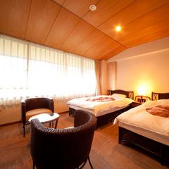 【山側3階】ツインベッド