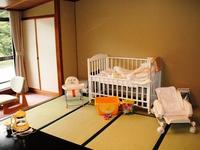 [青葉館]山側和室10畳(赤ちゃんプラン専用部屋)