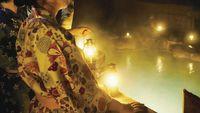 【東北DC特別企画】カンテラを提げて星空の蔵王大露天風呂へ〜露天入浴料&送迎付〜蔵王牛付き華の会席膳