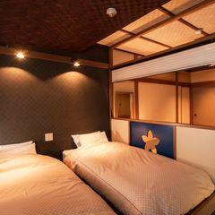 【当館基本】 ベッド付き和風客室 30平米以上