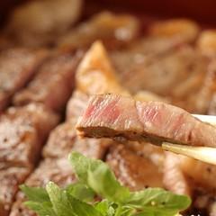 あか牛のサーロインステーキ&ロースト【極みプラン】料理グレードUP