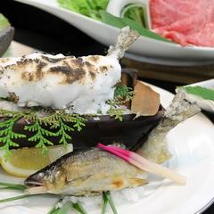熊野の旬の食事と熊野産鮎の塩焼き会席プラン