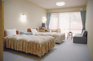 広々としたベットのお部屋洋室ツインルーム