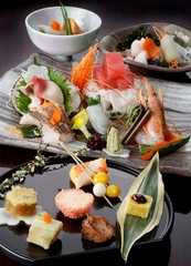 新鮮!【アワビの踊り焼き】と海鮮料理プラン★≪露天風呂付き客室≫