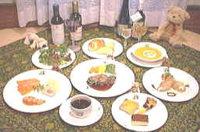 フォアグラを添えたステーキのスペシャルディナープラン
