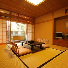 アルプス展望露天風呂付客室 和室10畳
