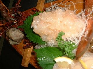 伊勢海老の刺身と焼きの贅沢プラン