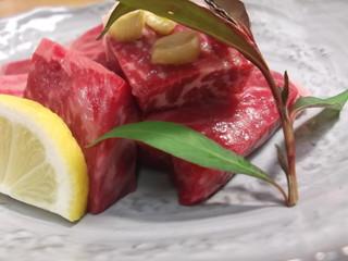アワビと地元知多牛のステーキ付きプラン