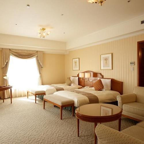 【最上階確約:お部屋は広々約48㎡】スイートルーム