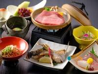 お部屋食でゆっくり☆島根和牛陶板ステーキをメインに☆海の幸も味わえる♪