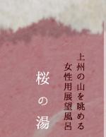 女性用大浴場 桜の湯