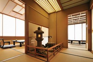 天然温泉の露天風呂付客室【特別室】