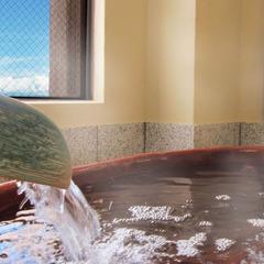2019年3月リニューアル【温泉付き展望客室】最上階から山々を眺める角部屋12畳[信楽焼の浴槽]