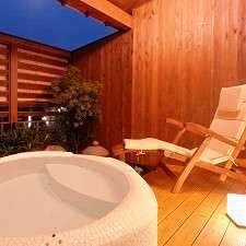 【露天風呂付き客室】〜花・月・雪〜 天然温泉&和風モダンなお部屋【4名様まで夕食お部屋出し】