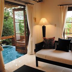 専用庭&露天風呂付客室 バリスイート45号室