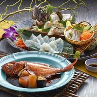 冬の金目鯛と伊良湖のひらめ付 旬菜ビュッフェ