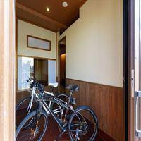 【ビワイチ★サイクリング】大事な自転車をお部屋まで一緒に!安心保管★『認証近江牛』